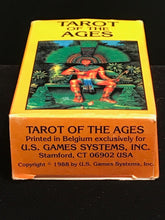 NEW SEALED ~ Vintage 1988 TAROT OF THE AGES ~ Belgium US Games Systems