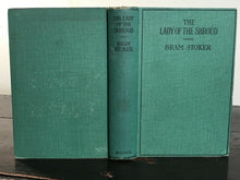 THE LADY OF THE SHROUD - Bram Stoker - 1920s GOTHIC HORROR ROMANCE