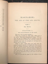 RAGNAROK: THE AGE OF FIRE AND GRAVEL - DONNELLY - Limited Ed of 6000 Copies 1883