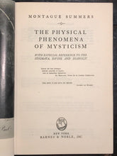 MONTAGUE SUMMERS - THE PHYSICAL PHENOMENA OF MYSTICISM - 1st US Ed 1950, Occult