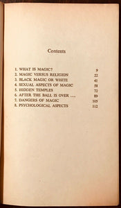 BLACK MAGIC TODAY - June Johns, 1st Ed 1971 - MAGICK WITCHCRAFT WICCA SEX