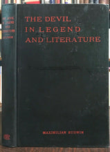THE DEVIL IN LEGEND AND LITERATURE - 1st Ed, 1931 - SATAN LUCIFER LILITH HELL