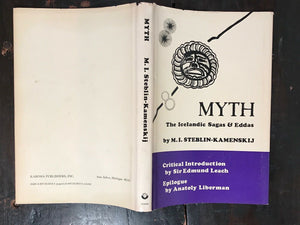 MYTH: THE ICELANDIC SAGAS & EDDAS - 1st Ed, 1982 - LEGENDS MYTHOLOGY FOLKLORE