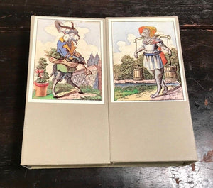 THE TOPSY-TURVY WORLD TAROT DECK - MULLER OF BERLIN - LIMITED ED 2000 MINT, 1982