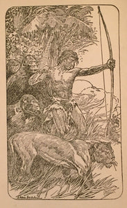 THE BEASTS OF TARZAN by Edgar Rice Burroughs, Early Edition 1916
