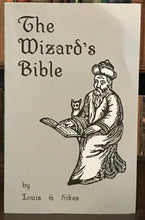 THE WIZARD'S BIBLE - 1st Ed 1987 - MAGICK GRIMOIRE DEMONS DIVINATION SPELLS HEX