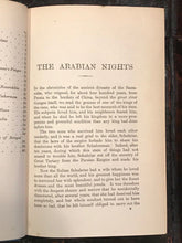 ARABIAN NIGHTS ENTERTAINMENTS - Lang, Ford Illustrations - New Impression, 1923