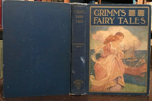 GRIMM'S FAIRY TALES - 1928, ILLUSTRATED FAIRYTALES - Scarce Edition