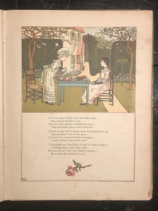 KATE GREENAWAY - UNDER THE WINDOW, 1st / 1st 1885 - ILLUSTRATED Fairytales