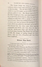 1884 - TALMUDIC & OTHER LEGENDS FROM OLDEN TIMES - Weiss 1st - KABBALAH FOLKLORE