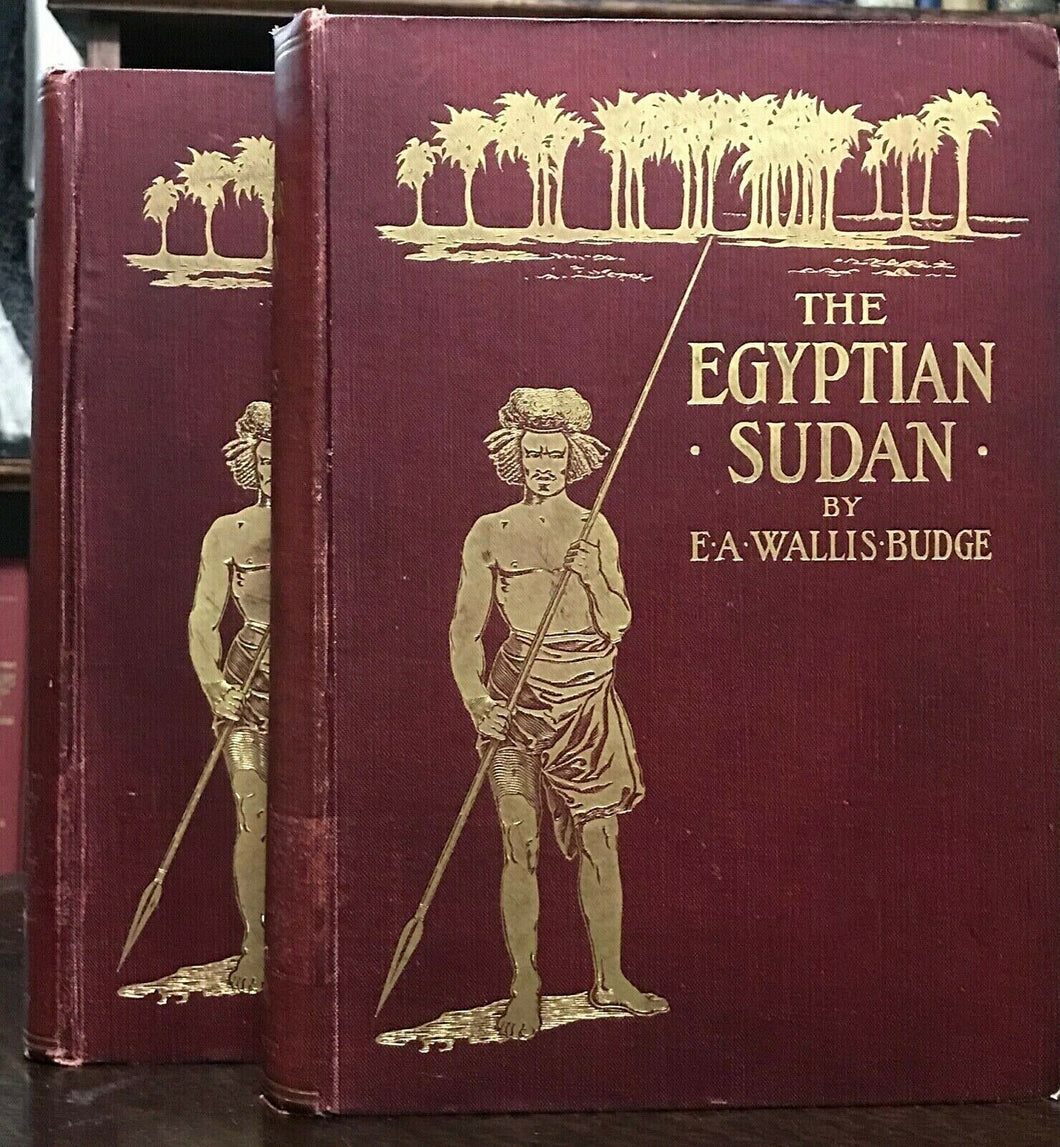 THE EGYPTIAN SUDAN - Budge, 1st Ed 1907, 2 VOLS ANCIENT AFRICA MONUMENTS HISTORY