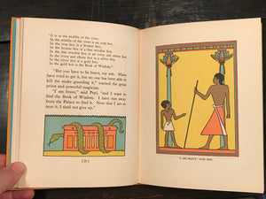 SIGNED PEPI & THE GOLDEN HAWK: TALE OF OLD EGYPT - Himes, 1932 - Children Egypt