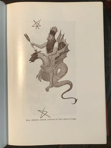 GREAT BOOK OF MAGICAL ART, HINDU MAGIC & INDIAN OCCULTISM - De Laurence GRIMOIRE