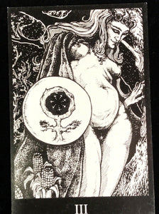 Book of KAOS Tarot Deck Orryelle Bascule 2004 - SCARCE w/ Special Feature, OOP