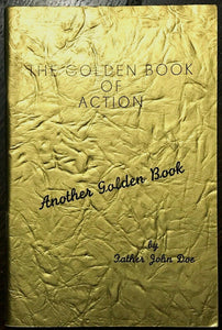 ALCOHOLICS ANONYMOUS AA - Pfau / John Doe - GOLDEN BOOK OF ACTION, 1969