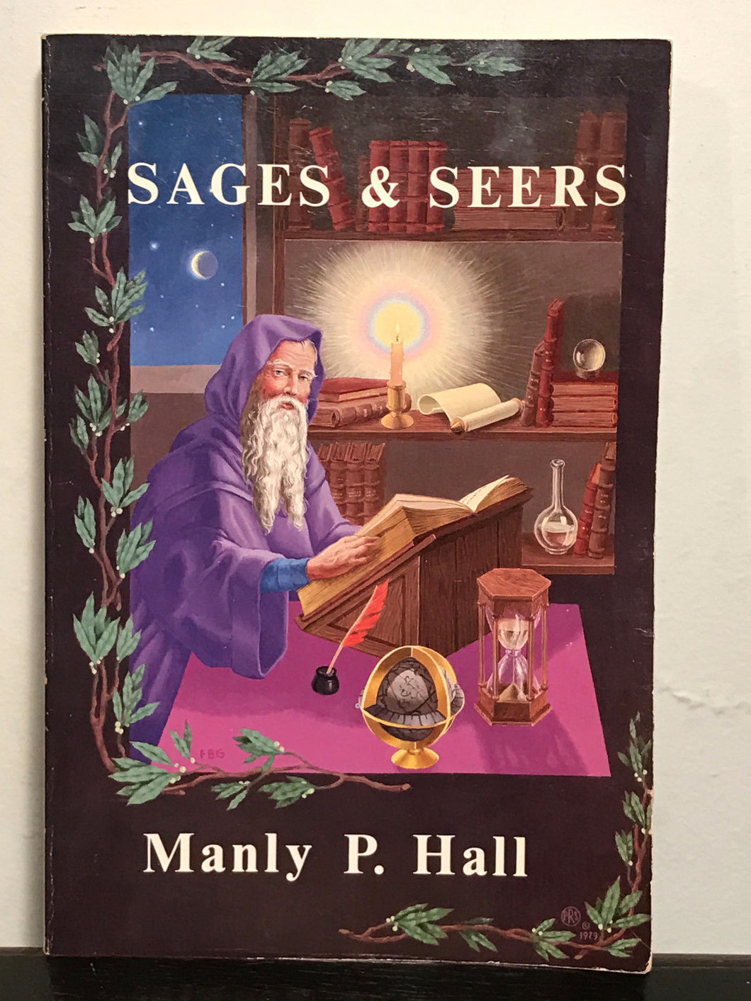 SAGES & SEERS by MANLY P. HALL, SC, Illustrated 1979
