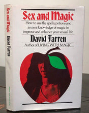 SEX AND MAGIC: MAGIC TO IMPROVE SEXUAL LIFE - David Farren, 1st Ed, 1975 MAGICK