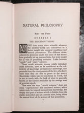 A.E. THIERENS - NATURAL PHILOSOPHY, 1st/1st 1920 ASTROLOGY HERMETIC OCCULT MAGIC