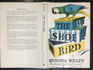 SIGNED + SCARCE - EUDORA WELTY - THE SHOE BIRD, Stated 1st/1st 1946 HC/DJ South