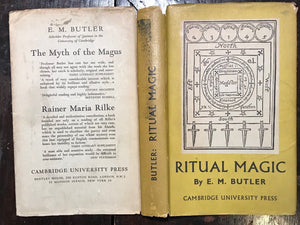 RITUAL MAGIC, E.M. Butler, TRUE 1st/1st 1949 HC/DJ - WITCHCRAFT DEMONOLOGY MAGIC