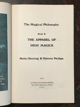 THE MAGICAL PHILOSOPHY - Complete Set by Denning & Phillips - 1st EDITION, 1974