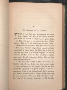LECTURES IN DEFENCE OF THE CHRISTIAN FAITH F. GODET 1st/1st 1881 ORTHODOX CHRIST