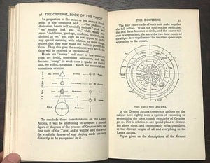 GENERAL BOOK OF THE TAROT - Thierens, 1st 1928, A.E. Waite - DIVINATION OCCULT