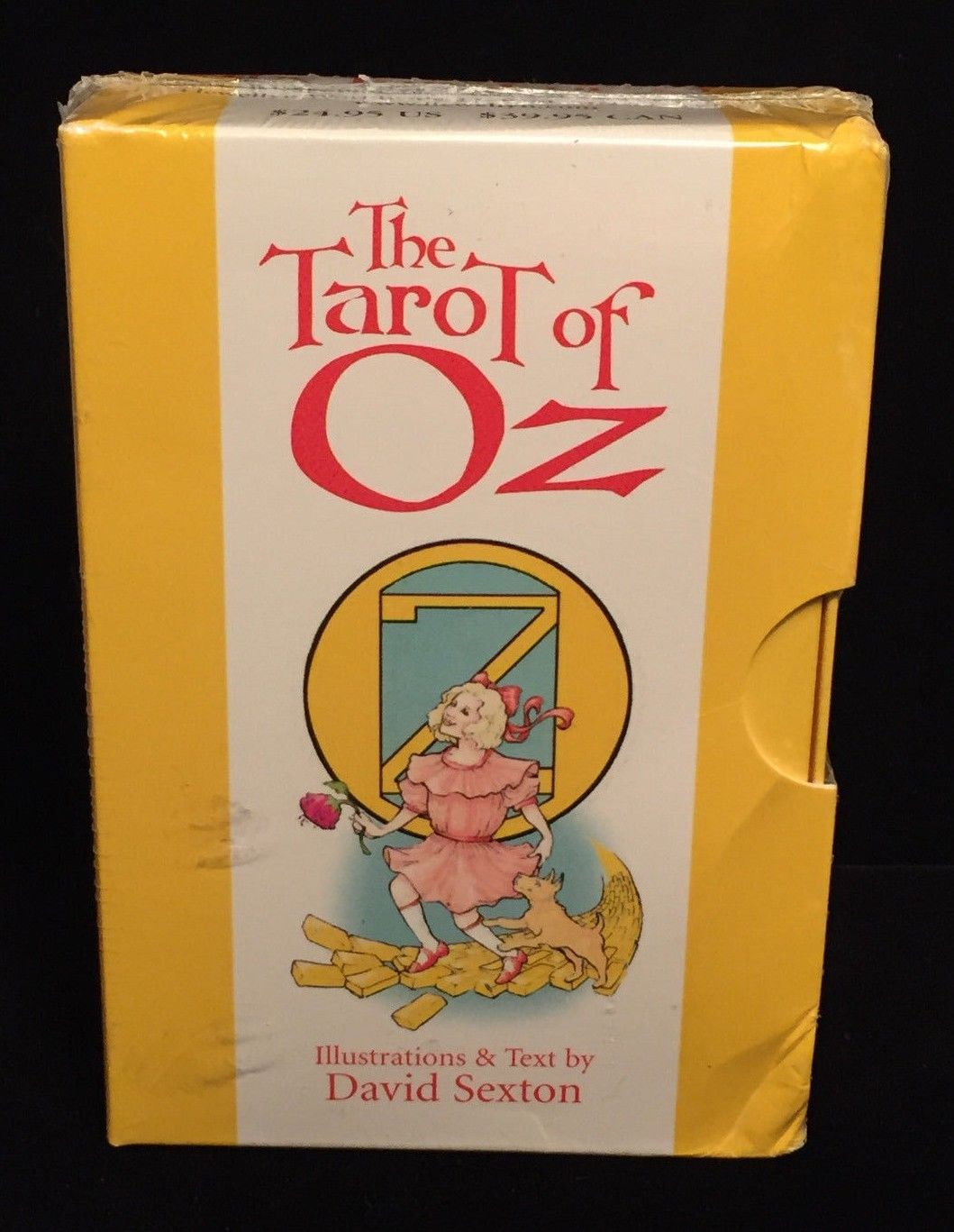 SEALED The Tarot of Oz by David Sexton, Tarot Cards with Booklet and Box NEW