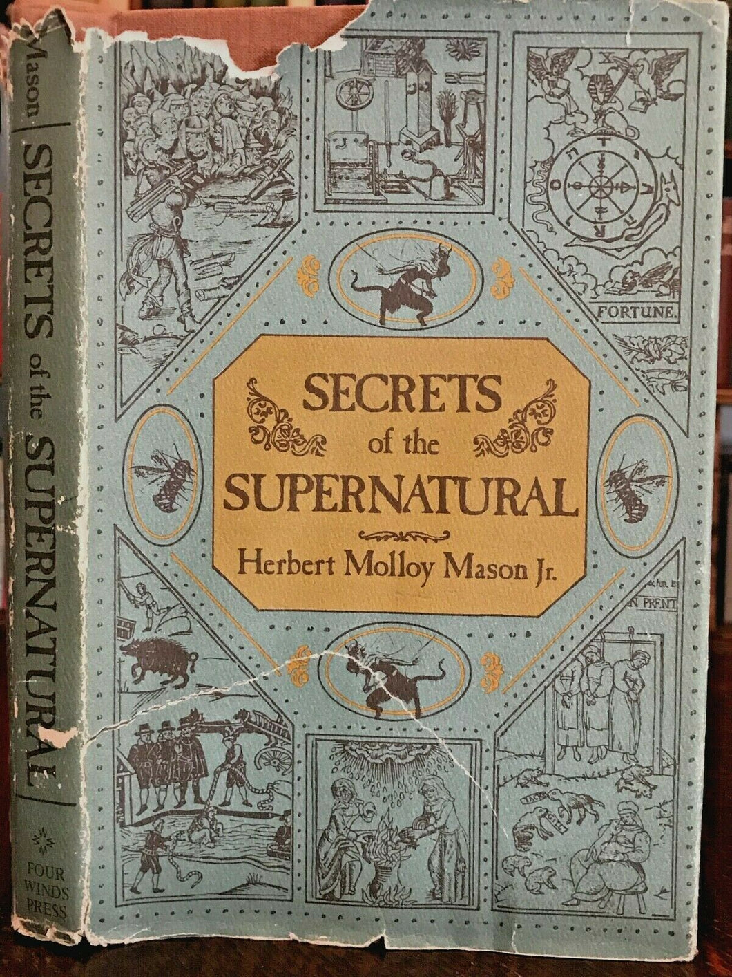 SECRETS OF THE SUPERNATURAL - Mason, 1st 1975 OCCULT GHOSTS WITCHCRAFT MONSTERS