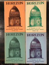 MANLY P. HALL - HORIZON JOURNAL - Full YEAR, 4 ISSUES, 1950 - PHILOSOPHY OCCULT