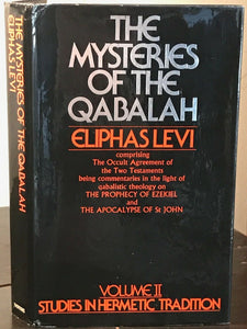MYSTERIES OF THE QABALAH: STUDIES IN HERMETIC TRADITION - Levi, 1st 1974, MAGICK