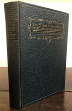 1926 DIVINE LANGUAGE OF CELESTIAL CORRESPONDENCES - Astrology Zodiac Symbolism