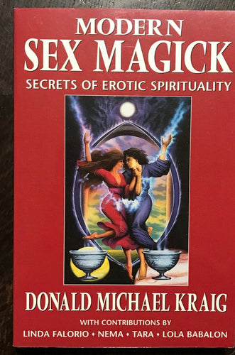 MODERN SEX MAGICK - 1st Ed, 1999 - WITCHCRAFT PAGANISM WICCA GRIMOIRE EROTIC