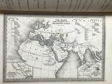 1866 - SCRIPTURE LANDS COMPLETE BIBLICAL ATLAS Kitto 1st/1st - 24 MAP ENGRAVINGS