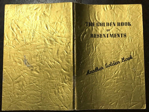 ALCOHOLICS ANONYMOUS AA - Pfau / John Doe - GOLDEN BOOK OF RESENTMENTS, 1st 1955