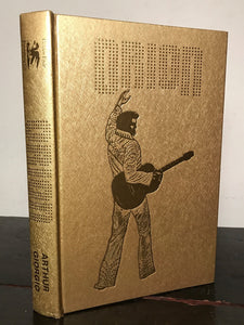 ORION by G. Arthur, G. Giorgio, SIGNED LIMITED EDITION 1978 HC/DJ ELVIS PRESLEY
