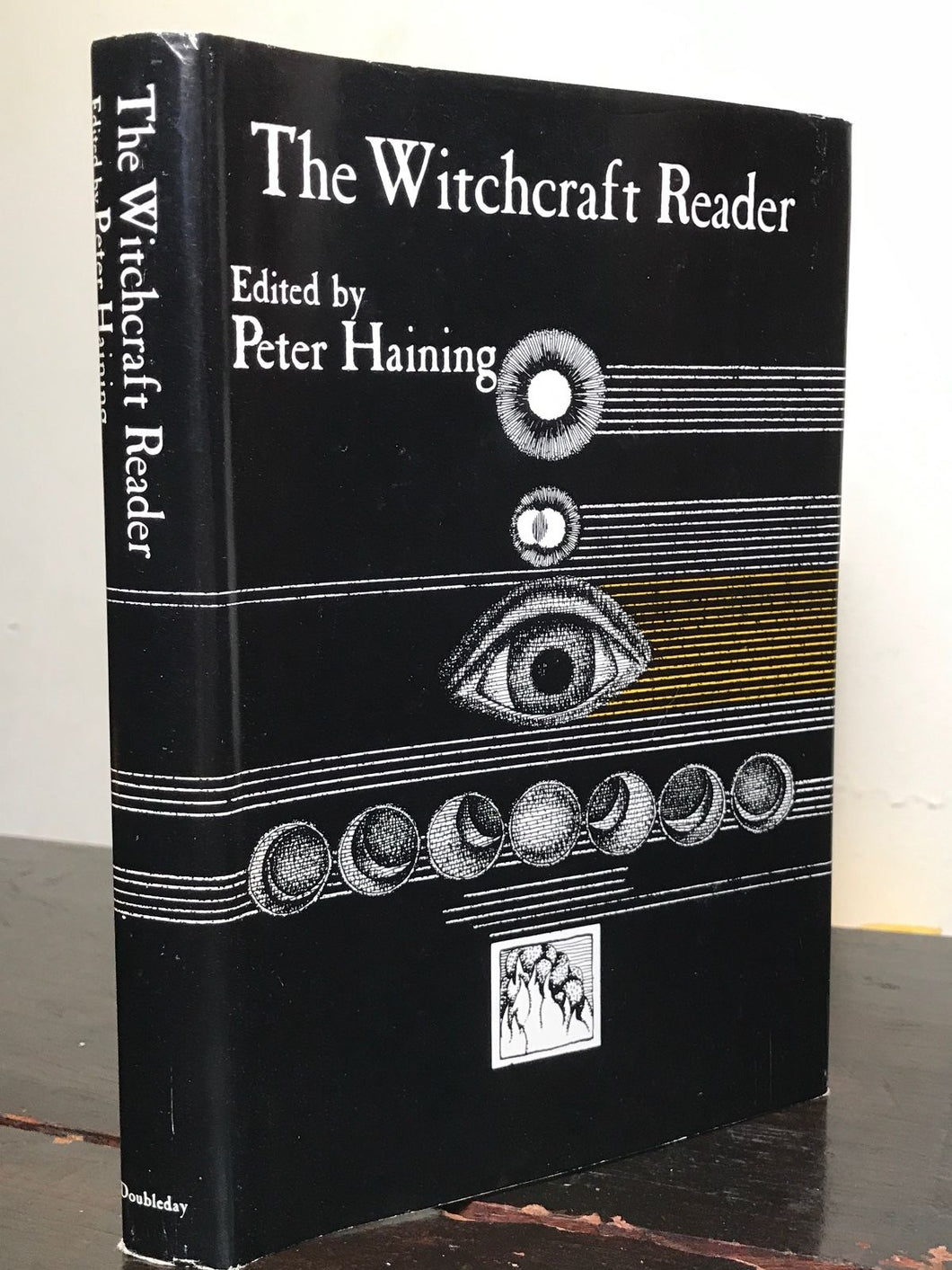 REVIEW COPY - THE WITCHCRAFT READER Peter Haining 1st / 1st 1970 HC/D