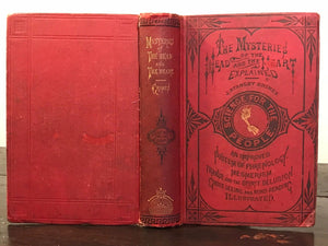 1875 - MYSTERIES OF THE HEAD & HEART EXPLAINED, Graves, 1st/1st SPIRITS GHOSTS