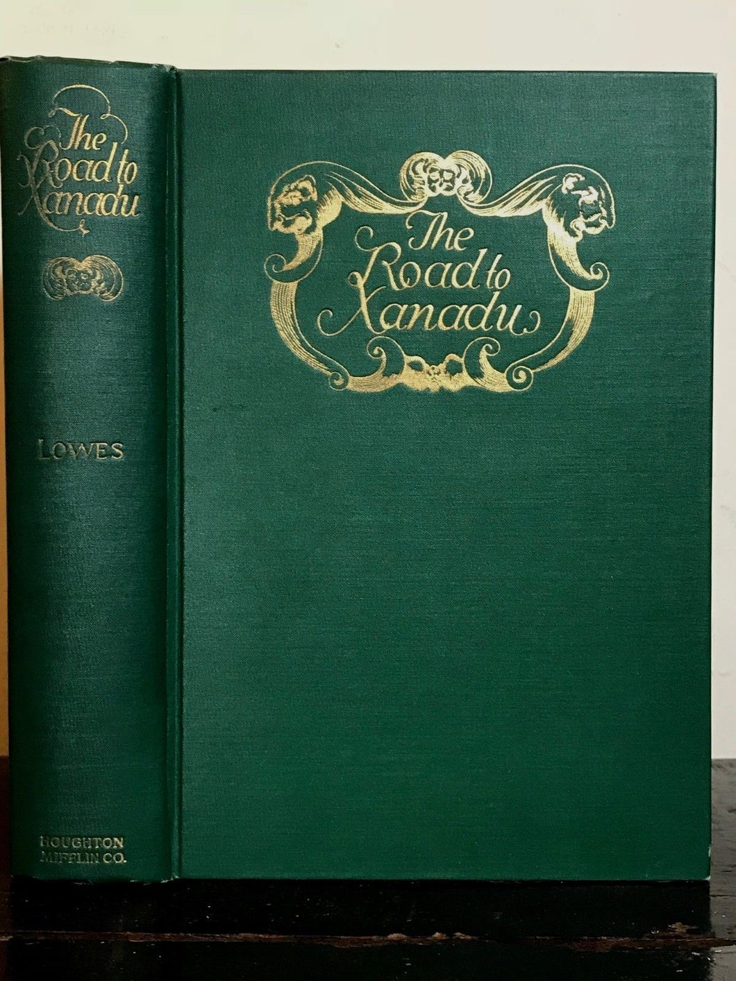 1927 - THE ROAD TO XANADU by JOHN LOWES, 1st/1st - COLERIDGE Poetry Analysis