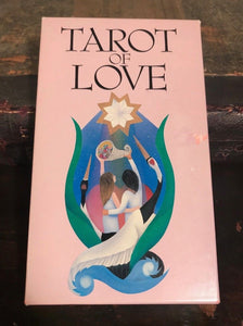 TAROT OF LOVE - 22 Tarot Cards - Marcia Perry 1989 1st Ed, AGMuller Switzerland