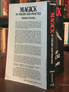 MAGICK IN THEORY AND PRACTICE - Aleister Crowley, 1976 - OCCULT MAGIC WITCHCRAFT