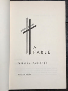 WILLIAM FAULKNER ~ A FABLE, True Stated 1st Edition / 1st Printing 1954, HC/DJ