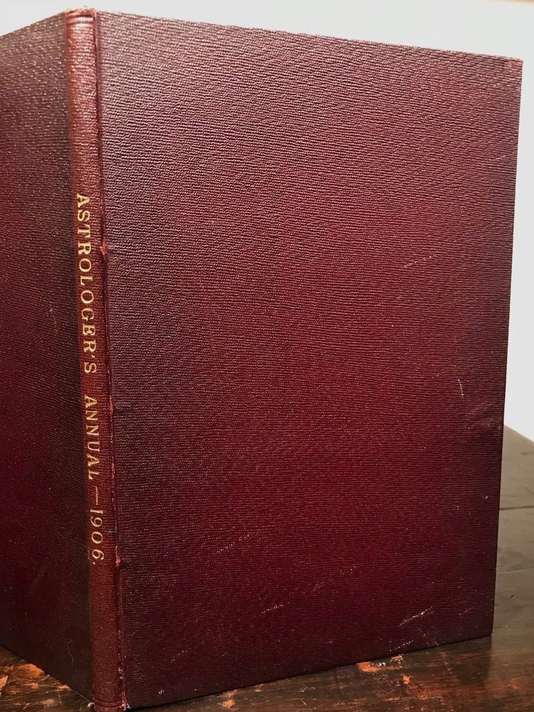 THE ASTROLOGER'S ANNUAL - Very SCARCE 1st Ed, 1906 - Alan Leo - ASTROLOGY OCCULT