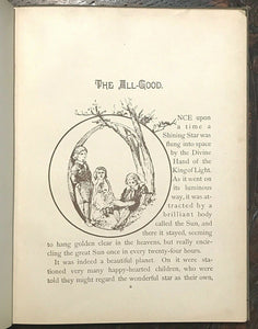 TRUTH'S FAIRY TALES - 1st, 1889 CHRISTIAN SCIENCE TEACHING EVIL DISEASE MORALS