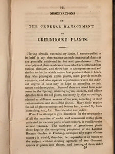 FLORIST'S GUIDE CONTAINING PRACTICAL DIRECTIONS T. Bridgeman, 1840 BOTANY PLANTS