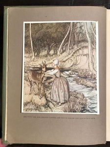 ARTHUR RACKHAM ~ LITTLE BROTHER & LITTLE SISTER; OTHER GRIMM TALES 1st/1st 1917