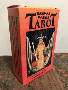 BARBARA WALKER TAROT Cards Deck - 1st Ed 1986 - AGMuller, Near Mint, OOP