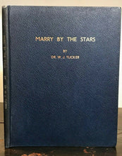 MARRY BY THE STARS - C. Sharpe, 1968 - ASTROLOGY LOVE PERSONALITIES DIVINATION