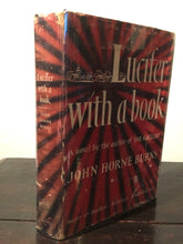 LUCIFER WITH A BOOK John H. Burns, 1st Ed 1949, HC/DJ Controversial Gay Int RARE