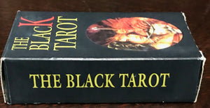 THE BLACK TAROT - Near Mint, 1st Ed 1998 - DARK FANTASY CARDS DECK - NEVER USED